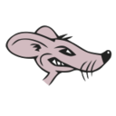 Rat2 vectorized transparent vectorized   square
